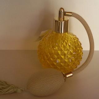 Μπουκαλάκι με βαποριζατέρ 100ml Κίτρινο