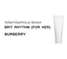 Κρέμα σώματος γυναικεία με Άρωμα  BURBERRY BRIT RHYTHM (FOR HER) BURBERRY - Χύμα αρώματα